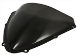 Suzuki 600 750 Dark Smoke Double Bubble Windscreen 2008 2009 2010