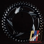 gsxr vortex sprocket black