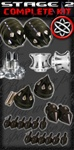 SPIKED PACKAGE KIT | HONDA CBR 1000RR | 600RR | 954 | 929