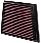 K&N High Flow Drop-In Air Filter: Ford Fiesta ST