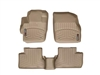 WeatherTech DigitalFit® FloorLiner™: (10-13 Mazda3, Mazdaspeed 3) TAN