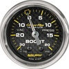 Autometer Carbon Fiber Boost/Vac Gauge