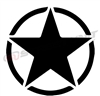 Army Star Vinyl Decal