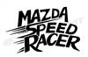 Mazda Speed Racer Vinyl Decal