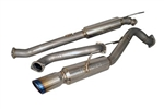 Injen Stainless Steel Cat-Back Exhaust System W/ Burnt Tips: Ford Fiesta ST