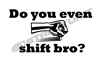 Do You Shift Vinyl Decal