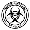 Zombie Response Vehicle Vinyl Decal