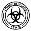 Zombie Response Team Vinyl Decal