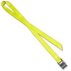 Metal Cam Straps w/ 1 inch Polyester