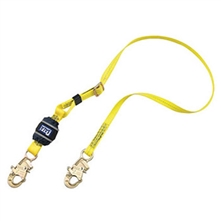 DBI/SALA Lanyard 1in X 6 Ez Stop II Adjustable Length Shock 1246234