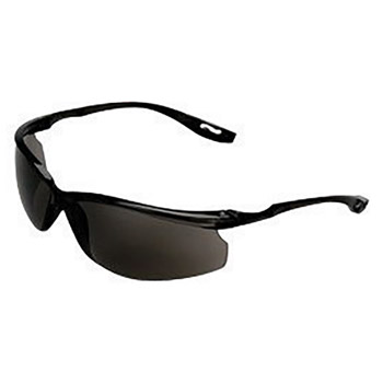 3M 3MR11798-00000 Virtua Sport CSS Safety Glasses With Black Polycarbonate Frame, Gray Polycarbonate Anti-Fog Lens And Corded Earplug Control System