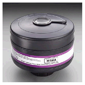 3M 453-01-01R06 Cartridge With Filter To Resist Particulates Sulfur Dioxide Chlorine Formaldehyde And Hydrogen Chloride