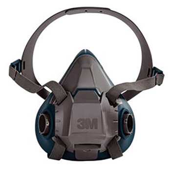 3M 3MR6501 Model 6501/49487 Small Rugged Comfort Half Facepiece Reusable Respirator