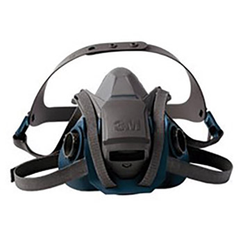 3M 3MR6501QL Model 6501QL/49488 Small Rugged Comfort Quick Latch Half Facepiece Reusable Respirator