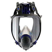 3M 3MRFF-403 Large Ultimate FX Full Face Reusable Respirator With Scotchgard Lens Coating And Bayonet Connection