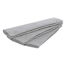"3M 3MRM-FL550DD/M 5"" X 50' Light Gray Polypropylene And Polyester High Capacity Maintenance Folded Sorbent, Perforated Every 16"""