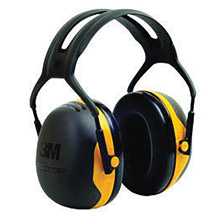 3M 3MRX2A Peltor Black And Yellow Model X2A/37271(AAD) Over-The-Head Hearing Conservation Earmuffs