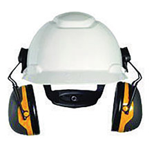 3M 3MRX2P3E Peltor Black And Yellow Model X2P3E/37276(AAD) Cap Mount Hearing Conservation Earmuffs