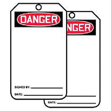 Accuform Signs 5 7 8in X 3 1 8in PF Cardstock Accident Prevention MDT260CTP