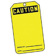 Accuform Signs 5 7 8in X 3 1 8in PF Cardstock Accident Prevention MGT200CTP