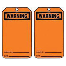 Accuform Signs 5 7 8in X 3 1 8in PF Cardstock Accident Prevention MWGT205CTP