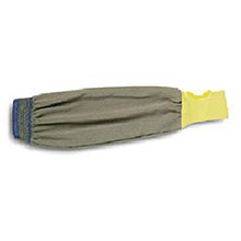 Ansell Edmont Sleeve 22in Brown Yellow Light Weight FR Kevlar 59-406-22