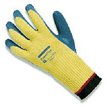 Ansell Edmont Coated Gloves Size 10 PowerFlex Plus Rubber Dipped Palm 206411