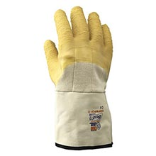 SHOWA Best Glove Chemical Resistant Yellow B1399NFWPCP-09 Medium