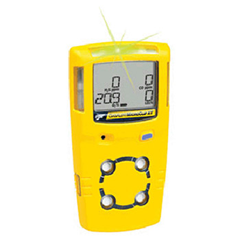 BW Honeywell Yellow GasAlertMicroClip XT Portable Combustible MC2-XWH0-Y-NA