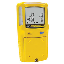 BW Technologies B86XTXWHMYNA Yellow GasAlertMax XT II Portable Combustible Gas, Carbon Monoxide, Hydrogen Sulphide And Oxygen Monitor With Rechargeable Battery