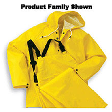 Bata Shoe Rainwear Bata Onguard 3X Yellow Webtex .65mm Ribbed 76032-3X
