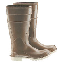 Bata Shoe PVC Boots Size 13 Polymax Ultra Brown 16in Kneeboots 84075-13