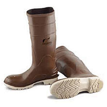 Bata Shoe PVC Boots Size 13 Polymax Ultra Brown 16in Kneeboots 84076-13