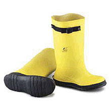 Bata Shoe PVC Boots Size 9 Slicker Yellow 17in Flex O Thane 88050-09
