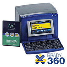 Brady USA BBP31 Sign Label Maker 360 Basic 142057