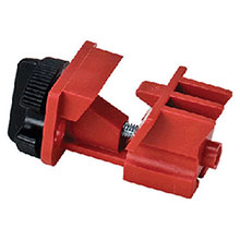 Brady USA Red Universal Multi Pole Breaker Lockout 66321