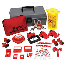 Brady USA Electrical Lockout Toobox Kit Safety 99312