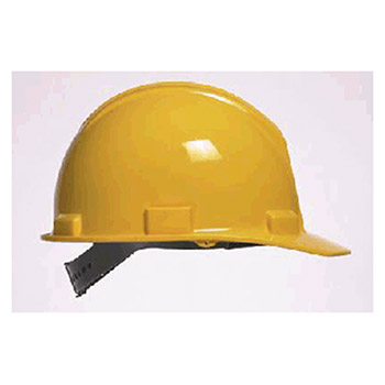 Bullard Hardhat 5100 Series Yellow Safety Cap Self Sizing 51YLP