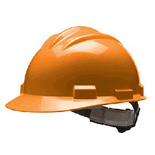 Bullard Hardhat S61 Series Orange Safety Cap 4 Point 61ORP