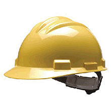 Bullard Hardhat S61 Series Yellow Safety Cap 4 Point 61YLP