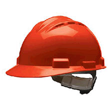 Bullard Hardhat S62 Series Red Vented Safety Cap 62RDR
