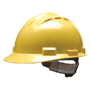 Bullard Hardhat S62 Series Yellow Vented Safety Cap 62YLP