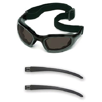 Aearo 3M Safety Glasses Maxim 2X2 Impact Goggles Black Nylon 40687-00000