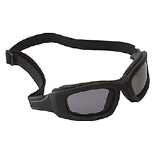 Aearo 3M Safety Glasses Maxim 2X2 Impact Goggles Black Nylon 40699-00000