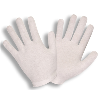 Cordova Inspection Gloves Heavy Weight Lisle Hemmed Cuff 1130
