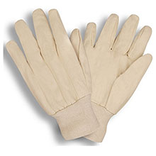 Cordova Work Gloves 2000V 8 oz. White Woven Cotton Canvas 2000V