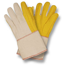 Cordova Work Gloves 2316G Yellow Chore Canvas Back 2316G