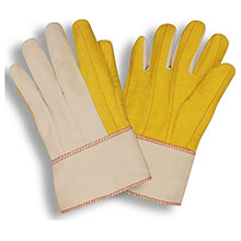 Cordova Work Gloves 2316S Yellow Chore Canvas Back 2316S