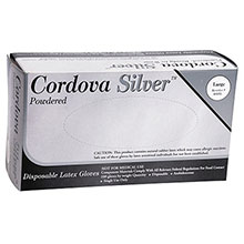 Cordova Disposable Gloves Commodity Industrial Grade Latex Powdered 4025