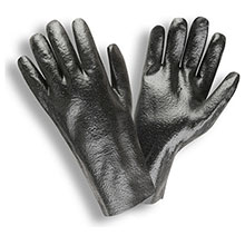 Cordova 5012R Black PVC coated glove Rough finish
